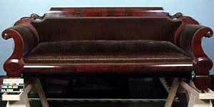 Photo Of The Front Of Federal Style Sofa