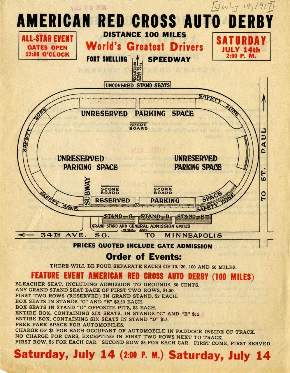 Derby poster