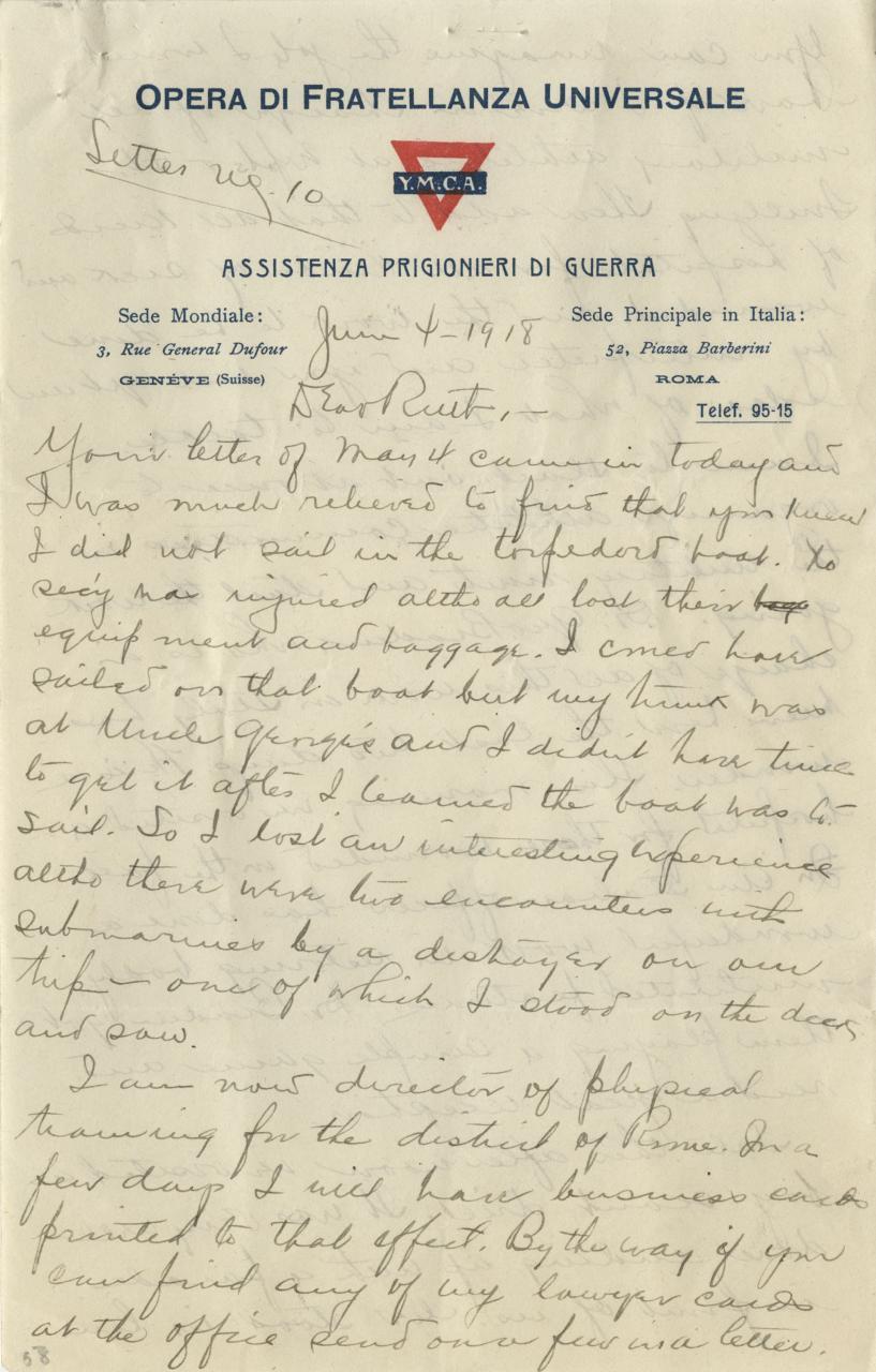 WW1 Daybook Page 19
