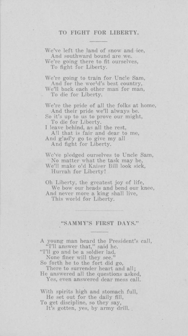 WW1 Daybook   Page 17   Minnesota Historical Society