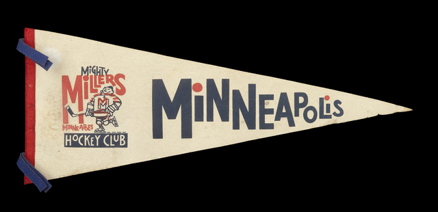 Minneapolis Miller hockey pennant