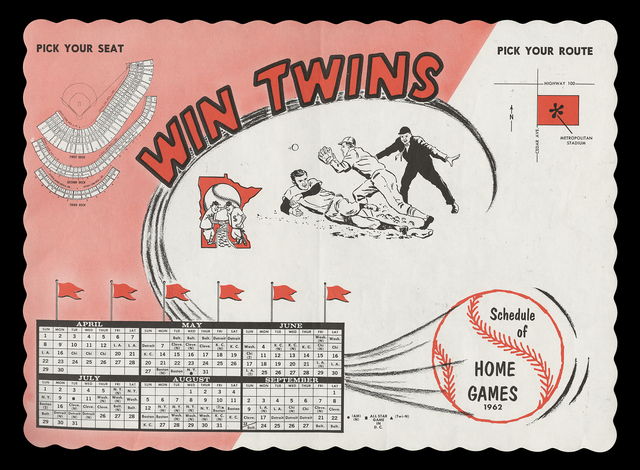 Twins Placemat