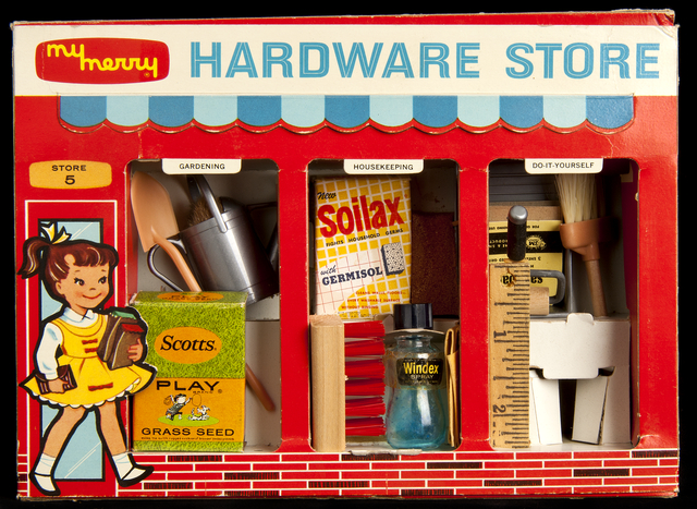 Hardware store toy set