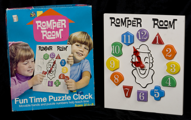 Romper Room Clock