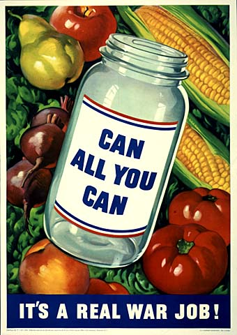 canning poster