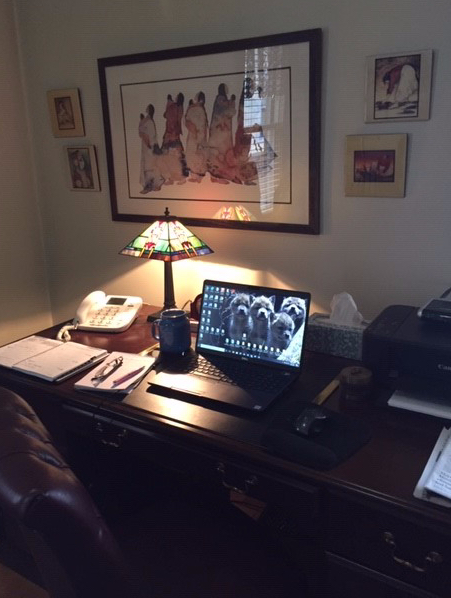 Home office.