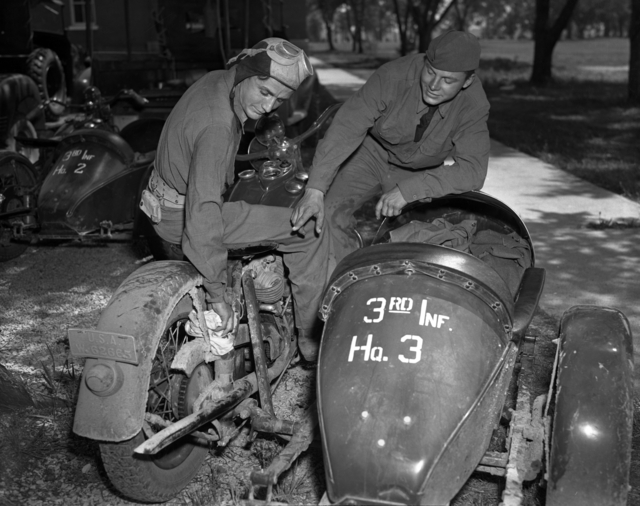 Army motorcycle 1940
