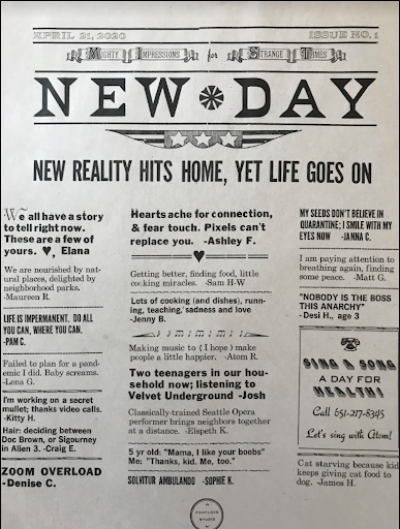 New Day newspaper.