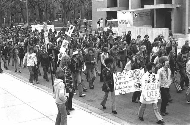 Student protest, 1972