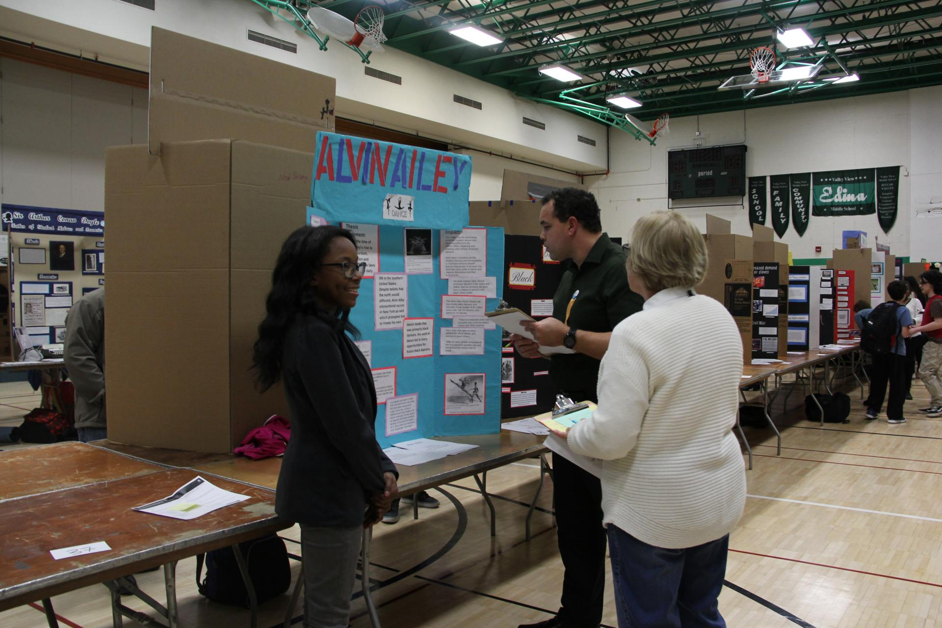 Thrivent Employee Shawn Stuart Judges at History Day