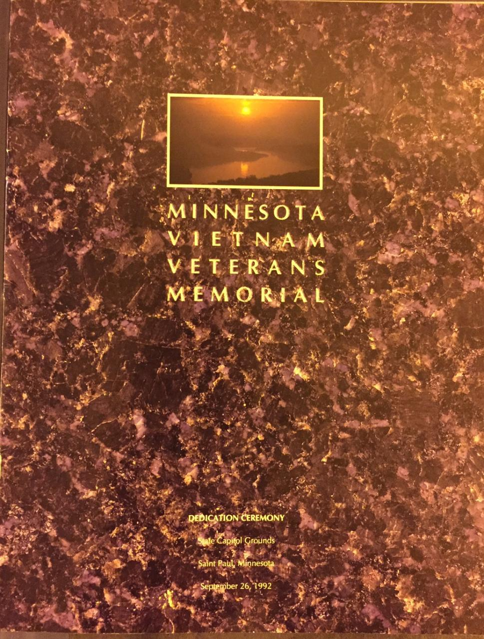 MN Vietnam Veterans Memorial program