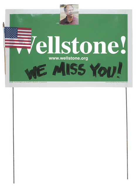 Wellstone sign
