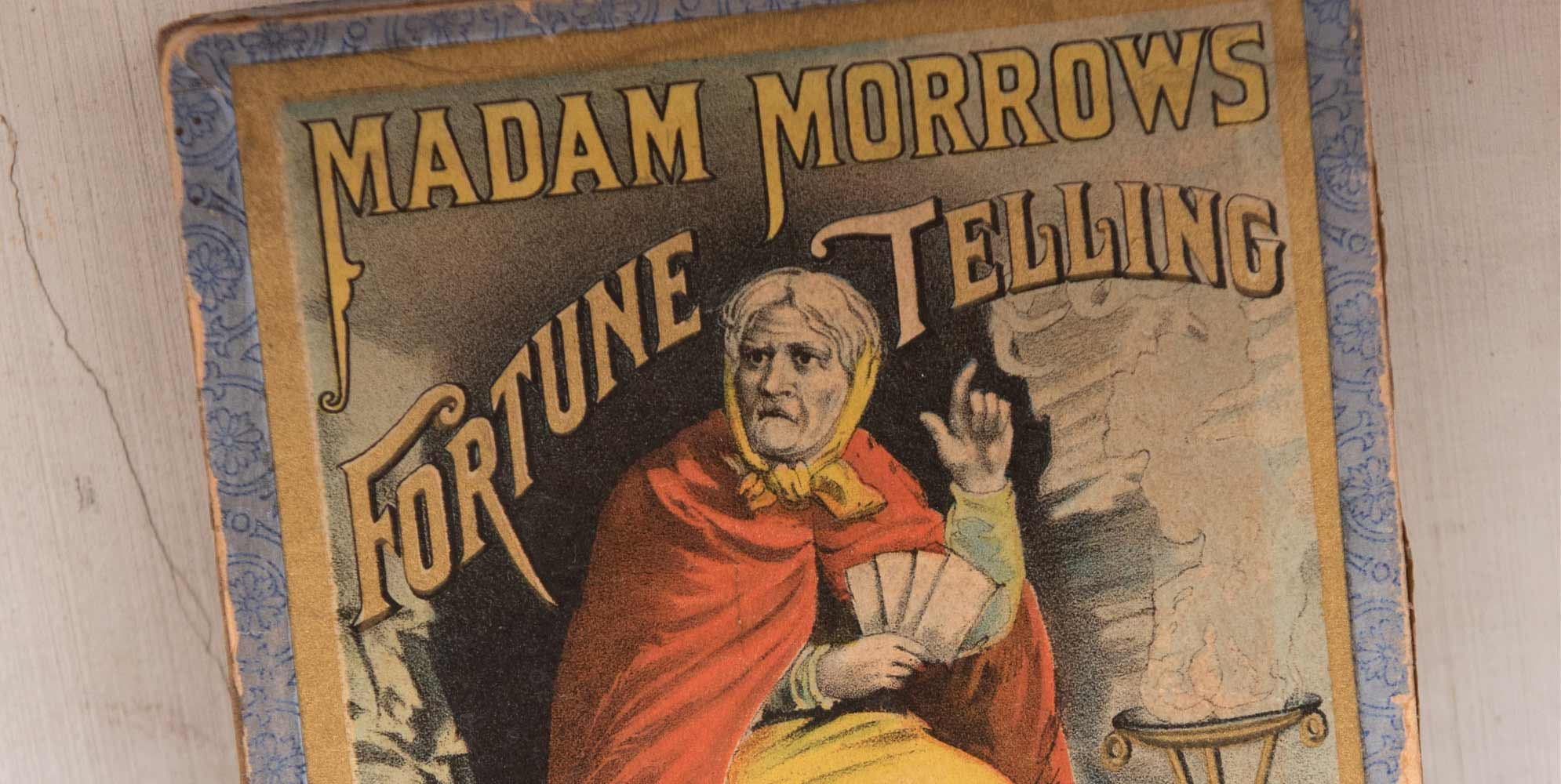 Madam Morrows fortune telling poster