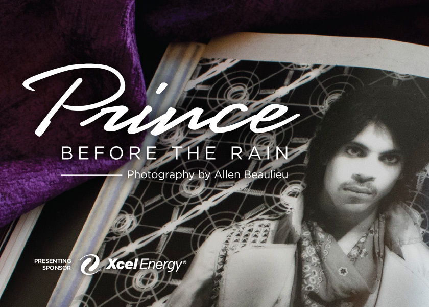PRINCE before the rain.