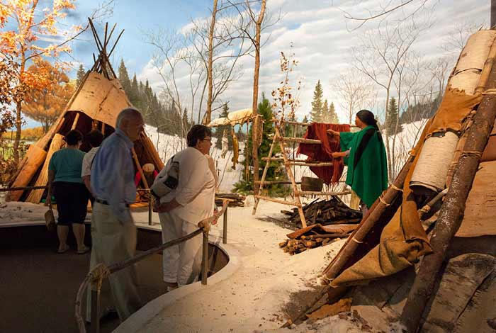 Mille Lacs Indian Museum & Trading Post.