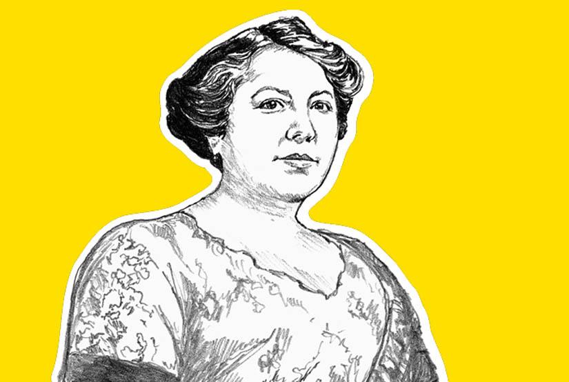 Marie Bottineau Baldwin.