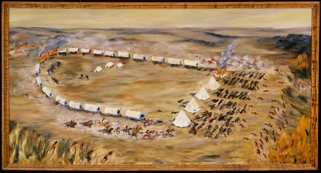 Battle of Birch Coulee, Dorothea Paul, 1975.