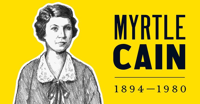 Myrtle Cain.