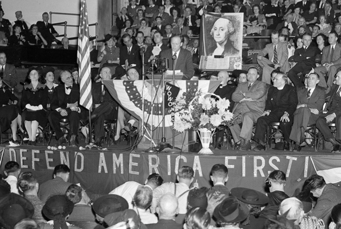 America First and WWII.