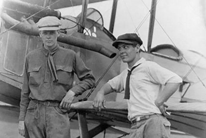 Early aviation.