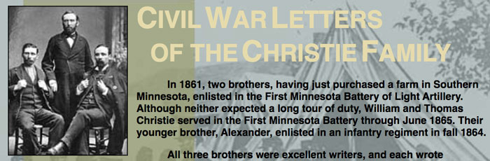 Civil War Letters of the Christie Family.
