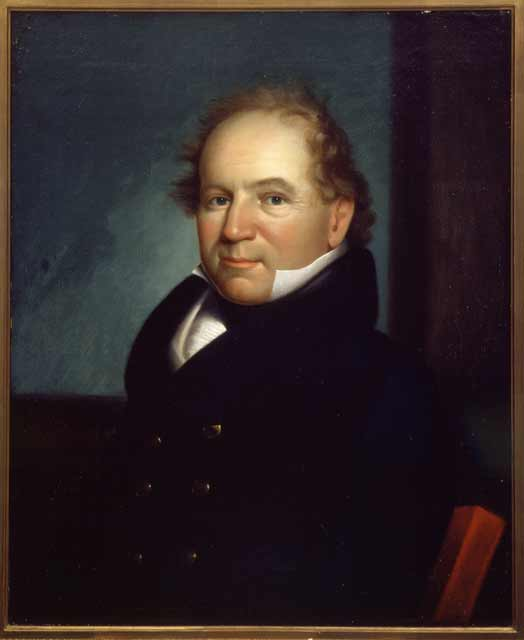 Colonel Josiah Snelling, about 1818. Source: MNHS Collections.