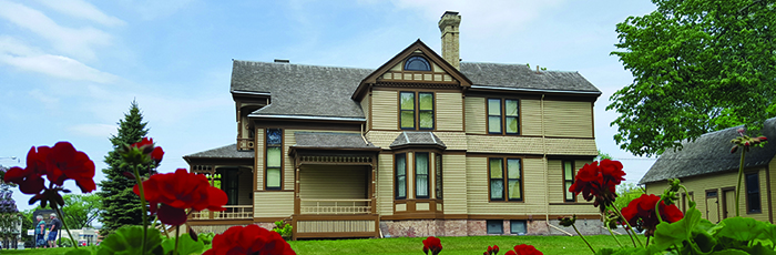 Comstock house.