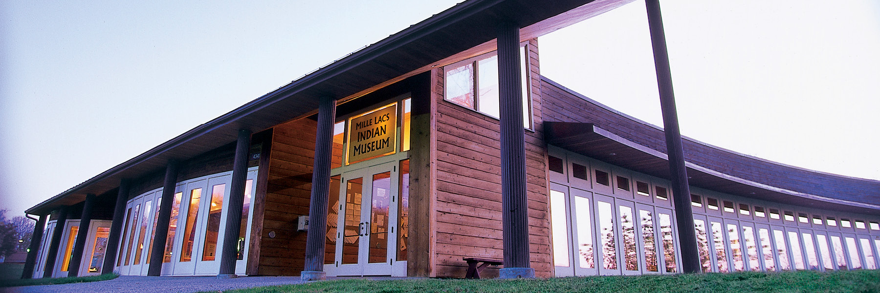Mille Lacs Indian Museum and Trading Post.