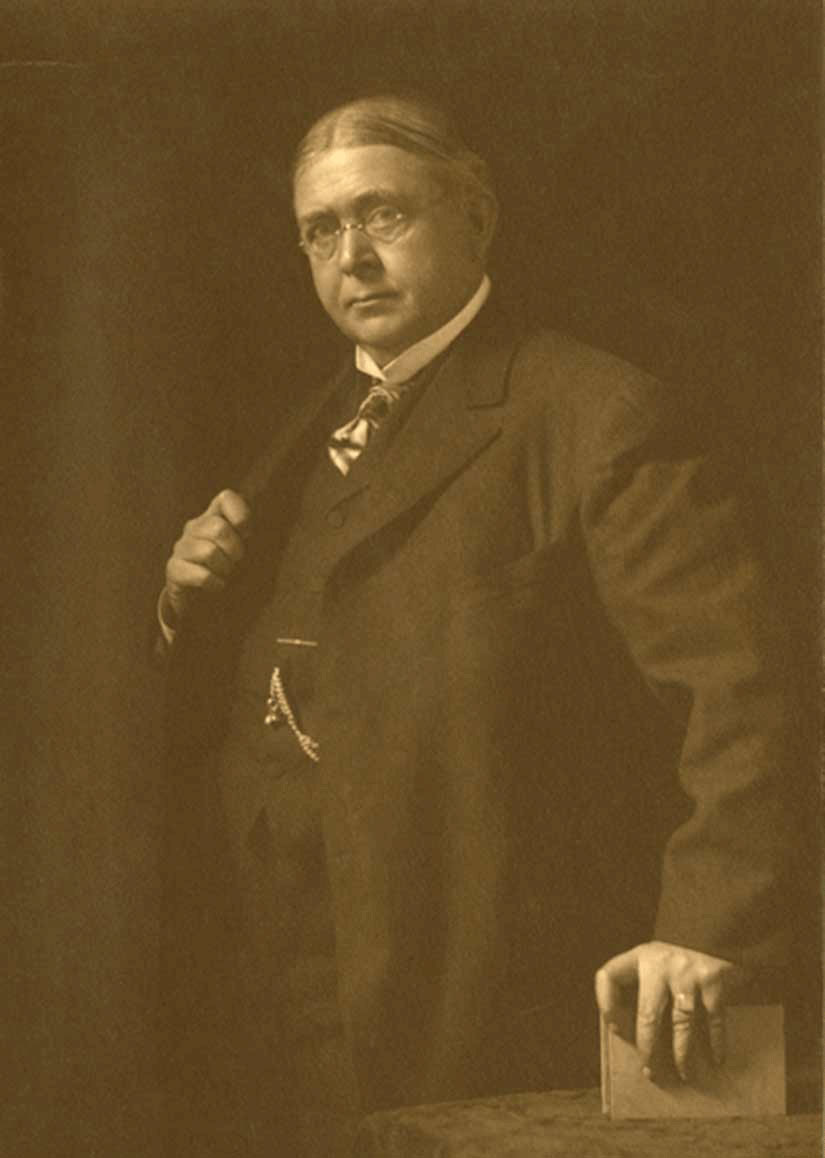 Portrait of Douglas Volk, 1908.