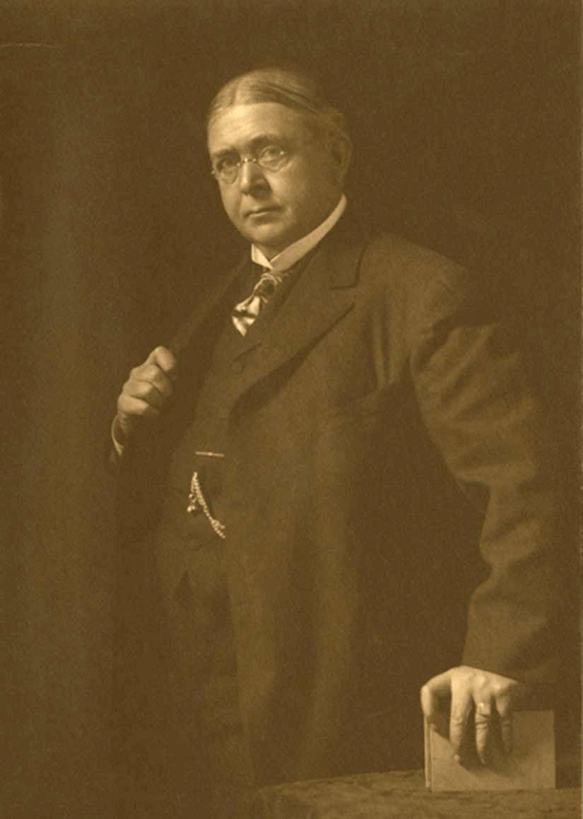 Portrait of Douglas Volk, 1908.