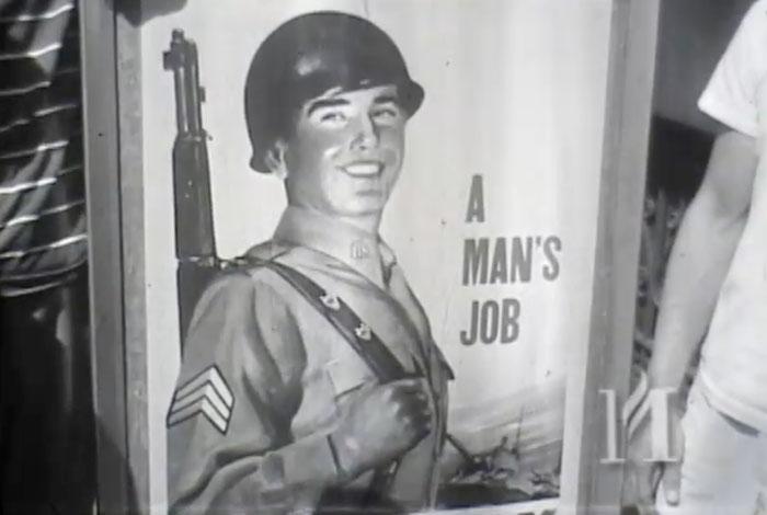 First draftees of World War II, 01/01/1948.