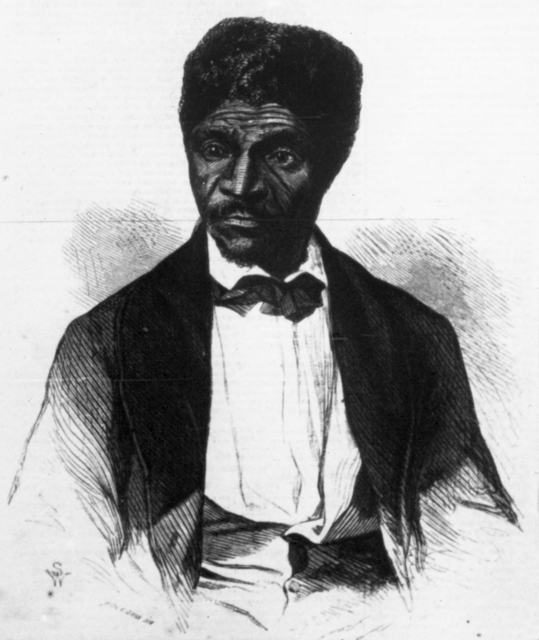 Dred Scott, ca. 1858. Dred Scott, about 1858. Source: MNHS Collections.