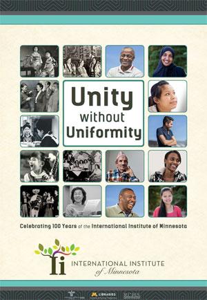 Unity without Uniformity intro exhibit panel