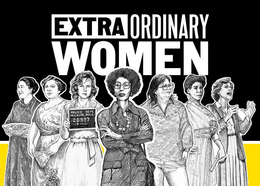 Extraordinary Women exhibit.