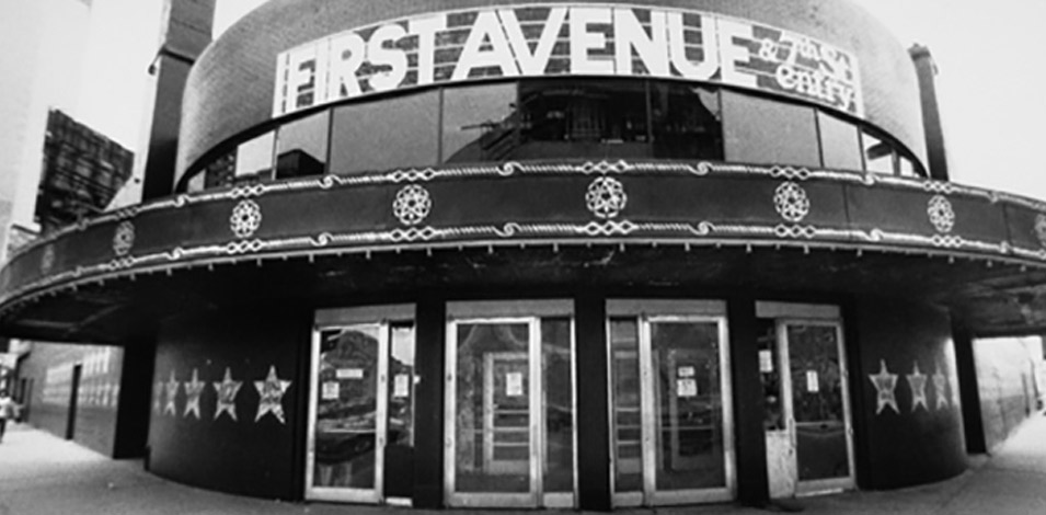 The First Avenue Exhibit.