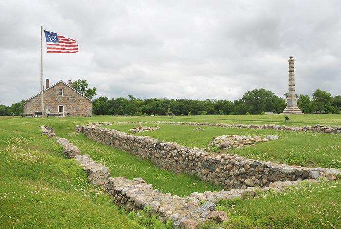 Fort Ridgely.