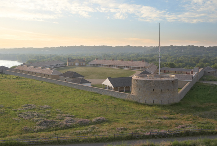 Historic Fort Snelling.