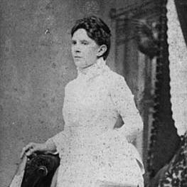 Portrait of Frances Kelley standing
