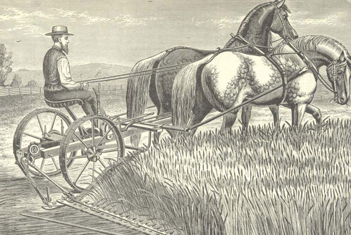 etching of farmer