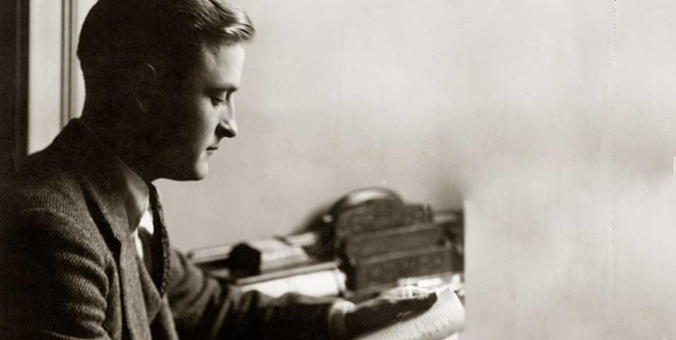 F. Scott Fitzgerald reading