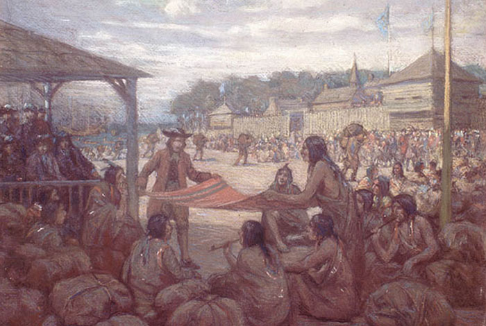 Great Lakes indigenous people and the French.