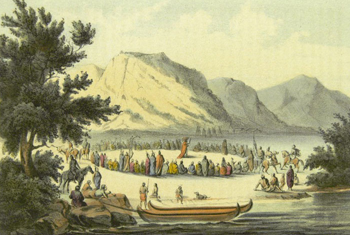 Native Nations and the Newcomers.