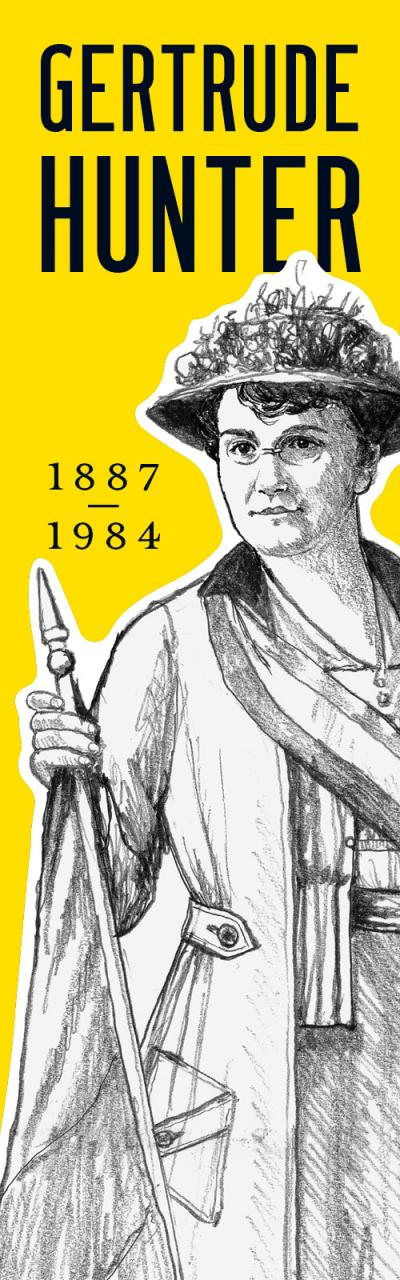 Gertrude Hunter 1887 -1984.