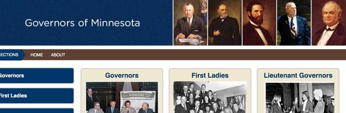 Governors of Minnesota.