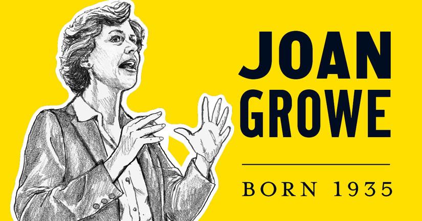 Joan Growe.