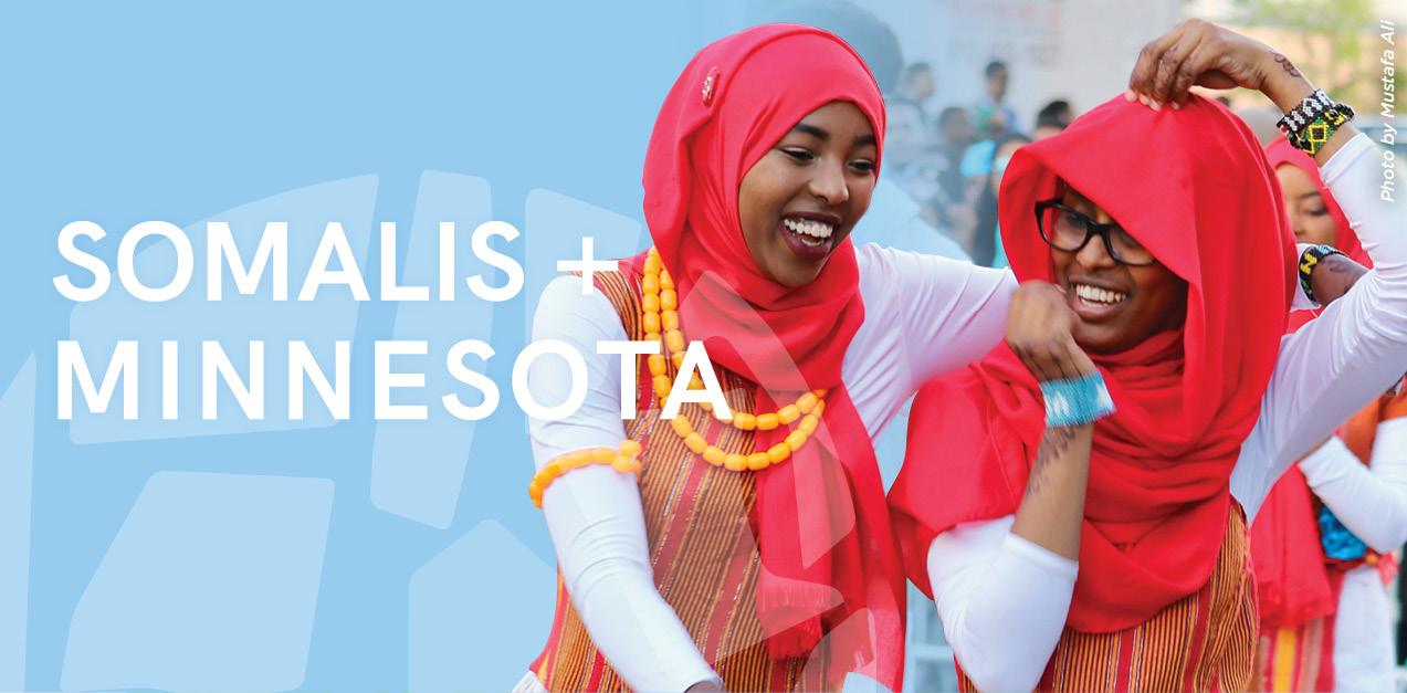 Somalis + Minnesota.