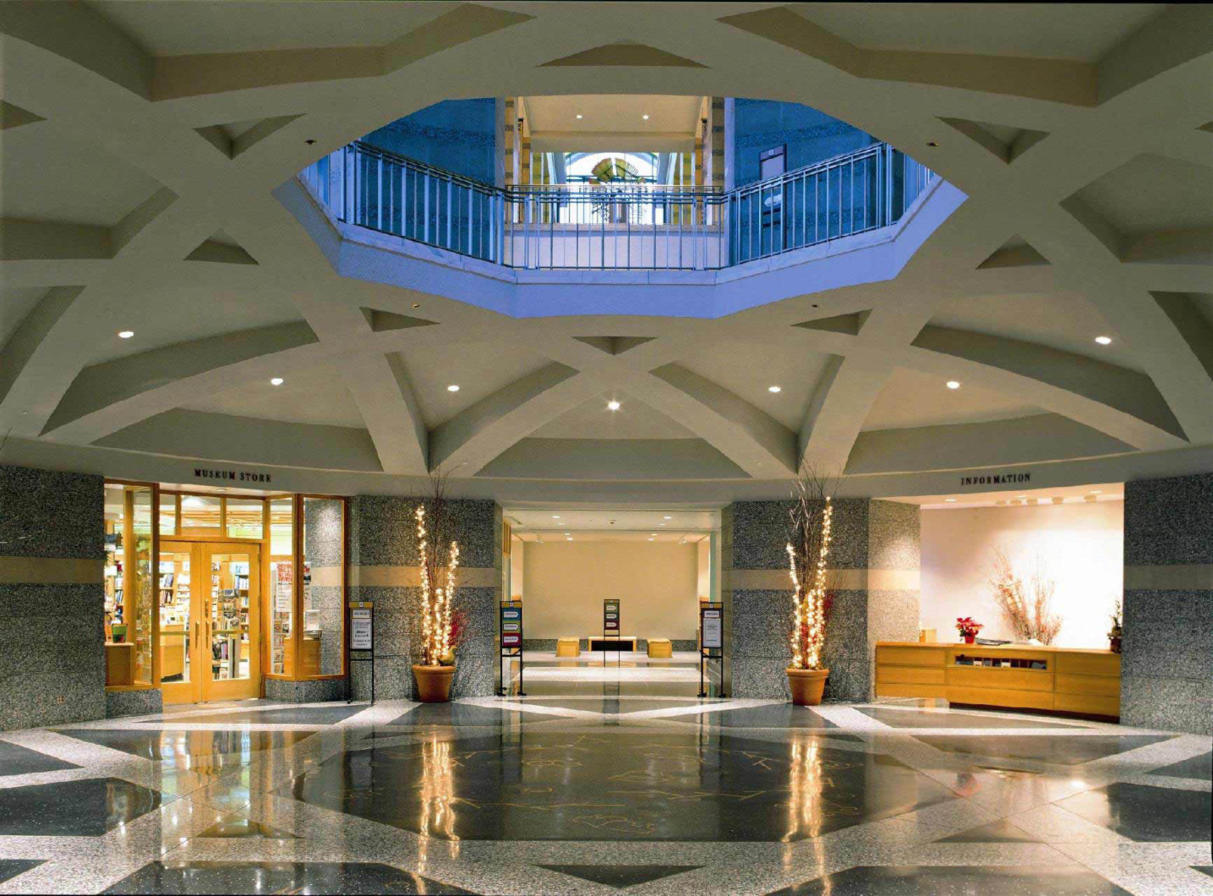 Minnesota History Center lobby