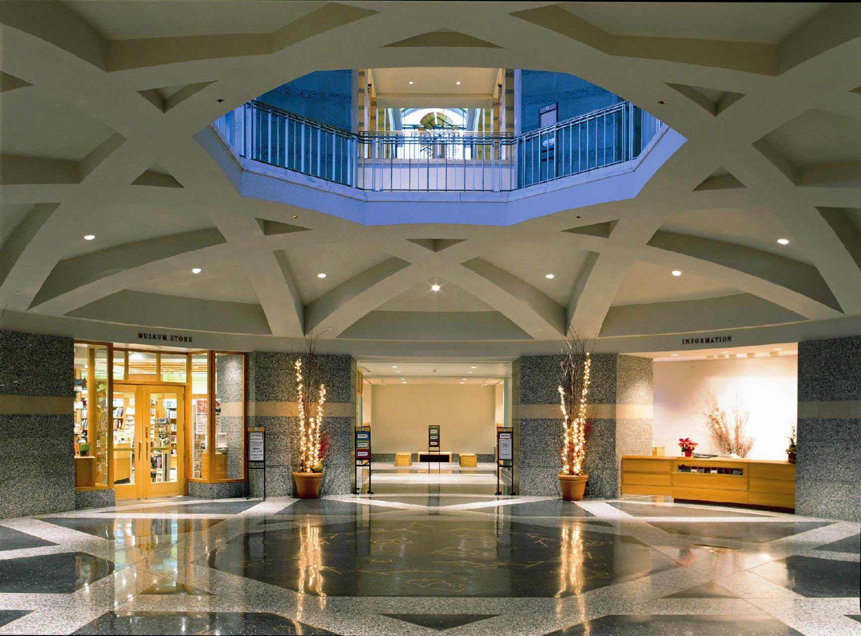 Minnesota History Center lobby