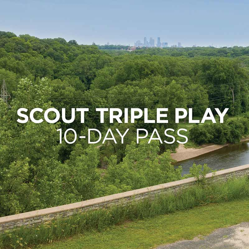 Scout Triple Play 10 day pass.