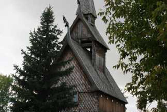 Hopperstad Stave Church Replica, Moorhead.